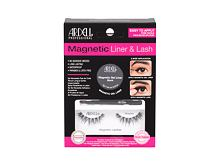 Falsche Wimpern Ardell Magnetic Liner & Lash Demi Wispies 1 St. Black Sets