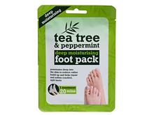 Fusscreme Xpel Tea Tree Tea Tree & Peppermint Deep Moisturising Foot Pack 1 St.