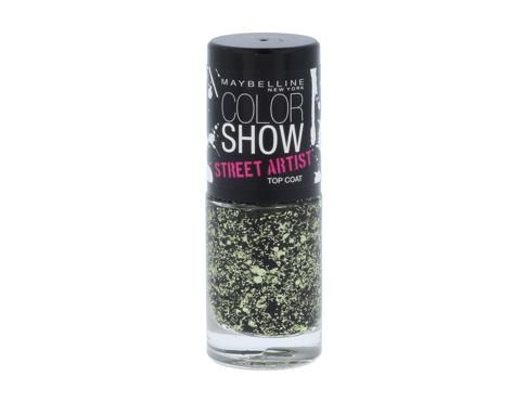 Nagellack Maybelline Color Show Street Artist 7 ml 01 Boom Box Black