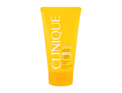 Sonnenschutz Clinique Sun Care Face Body Cream SPF15 150 ml